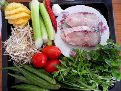 Cách nấu canh chua cá lóc đơn giản